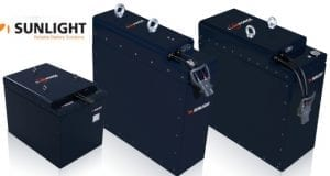 SUNLIGHT batteries lithiou LiON FORCE