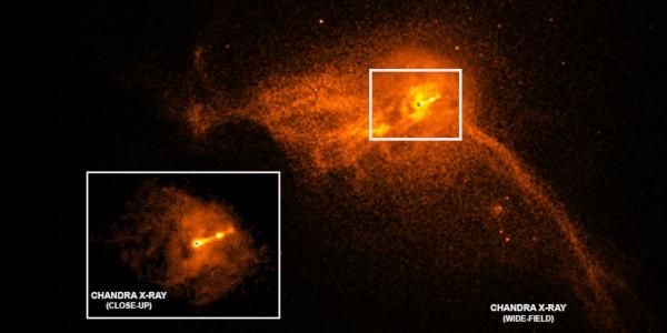 black hole M 87 a