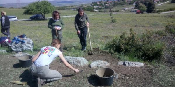 Ερέτρια Έλληνες Ιταλοί αρχαιολόγοι 2