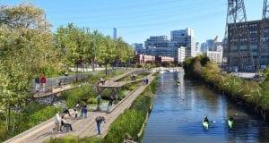 The Wild Mile Chicago Project - πλωτό οικολογικό πάρκο στο Σικάγο