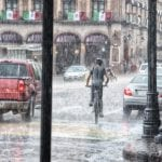 καιρός βροχή
