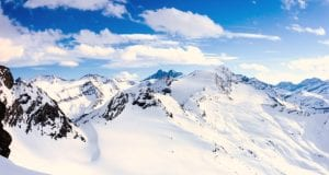 Χιόνια παγετώνες πάγος οροσειρές Άλπεις