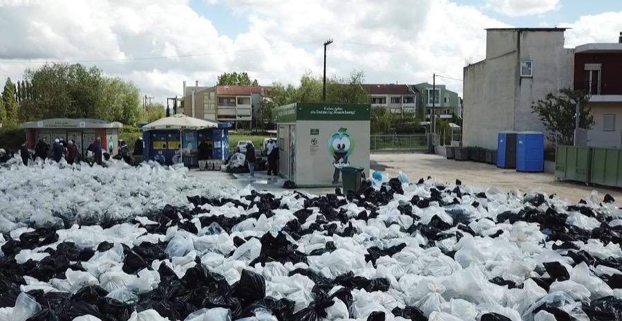 ρεκόρ Γκίνες Ανταποδοτικής Ανακύκλωσης