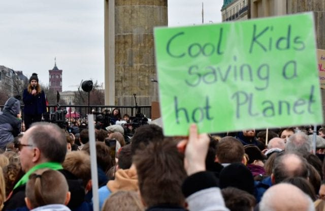GERMANY POLITICS CLIMATE ENVIRONMENT DEMONSTRATION