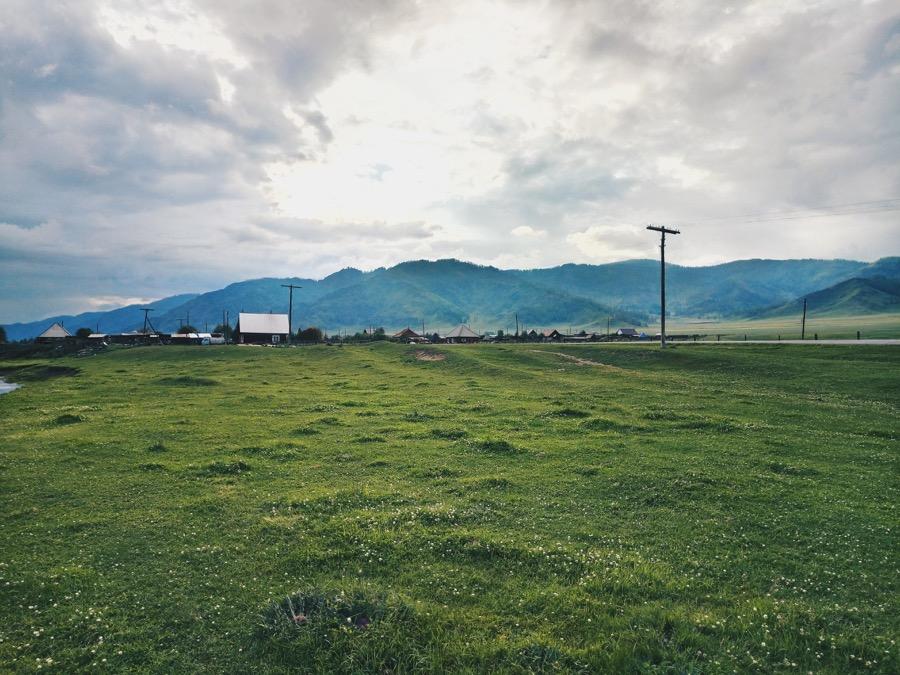 χωράφι χωριό