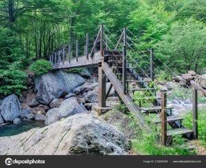 Small bridge in Val Grande National Park