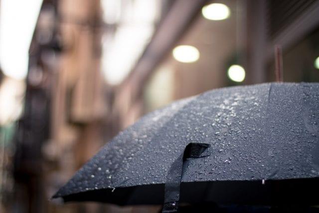 καιρός βροχή ομπρέλα