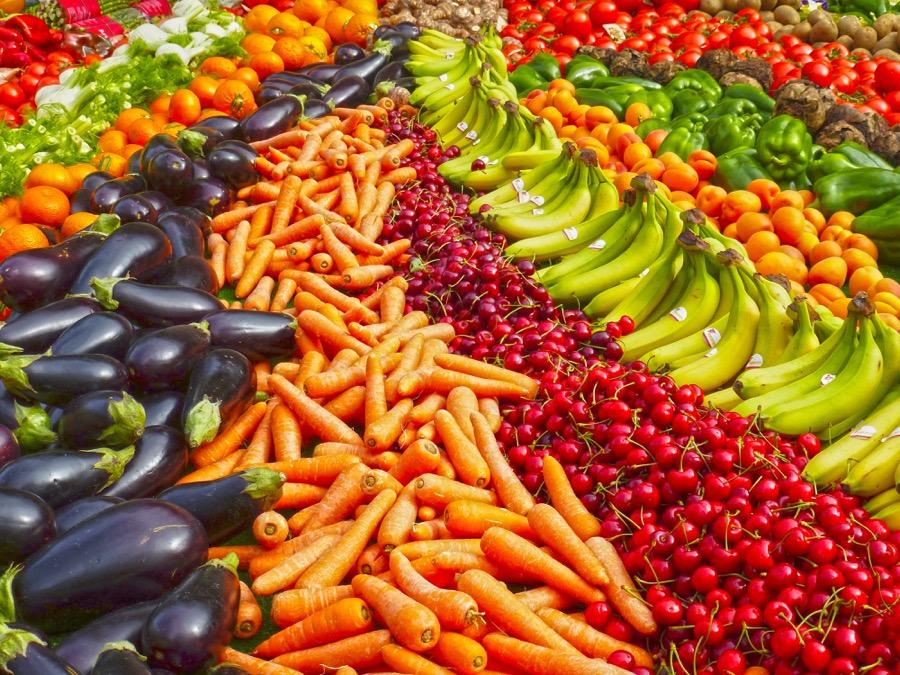 Χορτοφαγία - τροφή - φρούτα