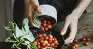 Χορτοφαγία - τροφή - ντομάτες