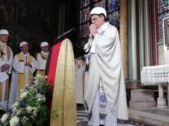 Παναγία των Παρισίων πρώτη λειτουργία μετά την πυρκαγιά