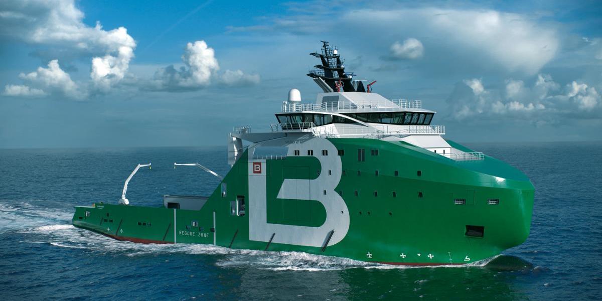 Bourbon Offshore supply vessel
