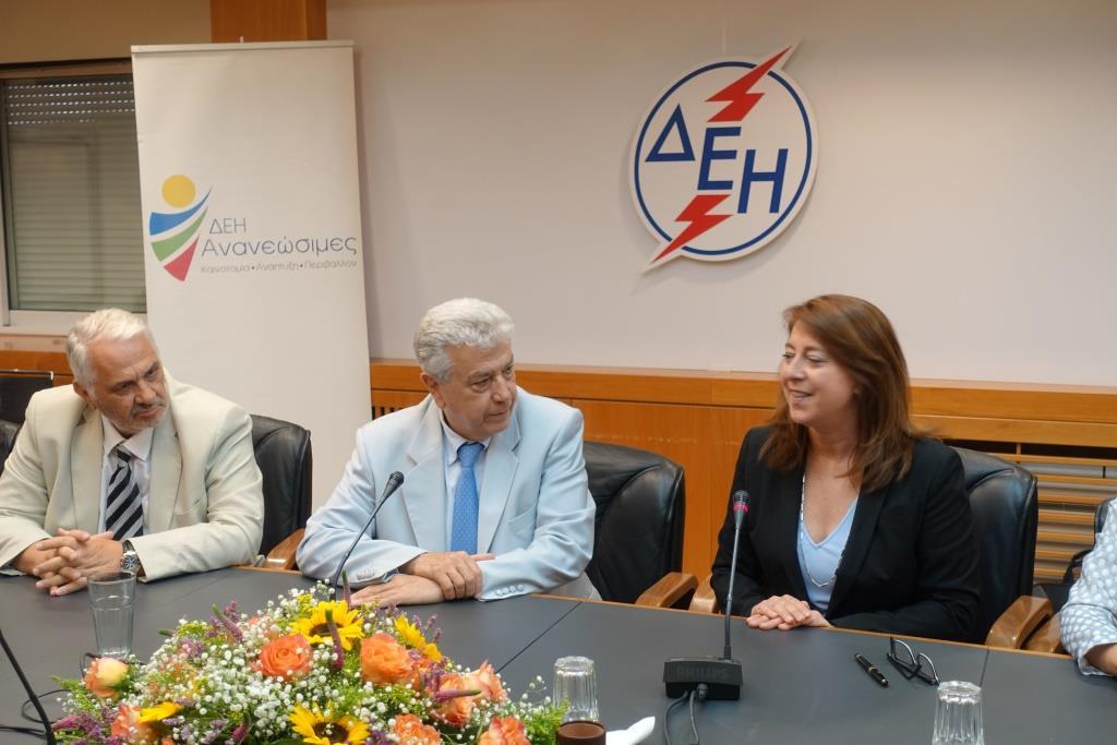 ΔΕΗ: Υπεγράφη η σύμβαση για το Πάρκο Ανεμογεννητριών στην Κεφαλονιά