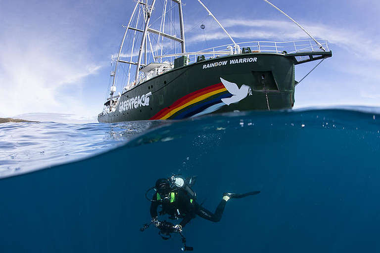 Greenpeace, Rainbow Warrior