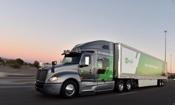 Αυτόνομο φορτηγό Galileo Green Lane