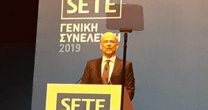 Ο πρόεδρος του Συνδέσμου Ελληνικών Τουριστικών Επιχειρήσεων (ΣΕΤΕ), Γιάννης Ρέτσος