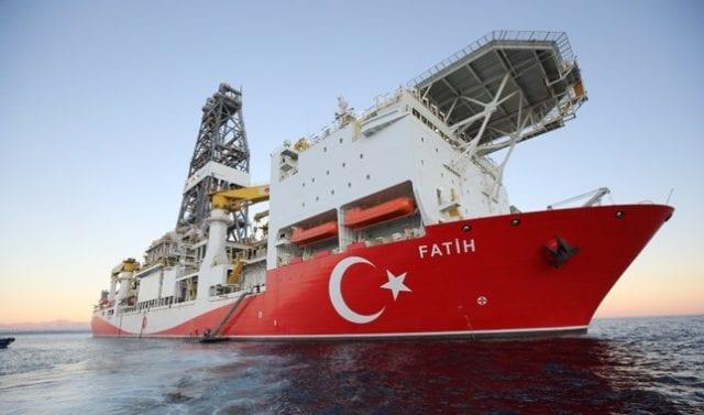 Τουρκικό γεωτρύπανο Φατίχ στην Κυπριακή ΑΟΖ