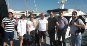 Ο θαλάσσιος τουρισμός στις Κυκλάδες στο επίκεντρο press trip Ρουμάνων και Ουκρανών
