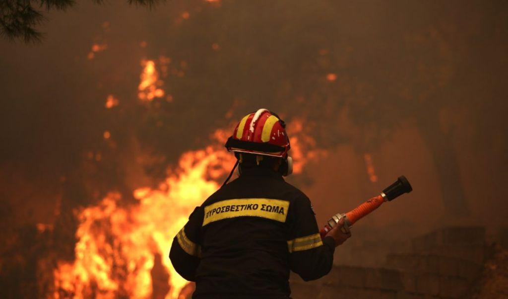 Πυροσβέστης, πυροσβεστική υπηρεσία, δασική πυρκαγιά