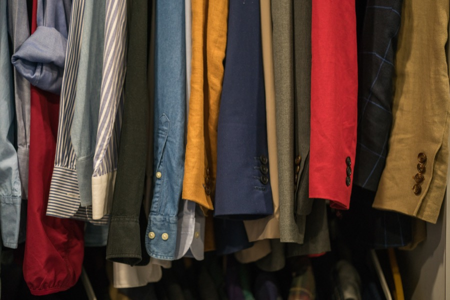 δωρεά ρούχων