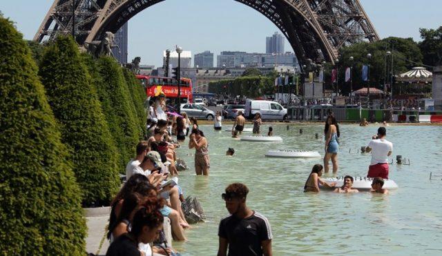 καύσωνα Παρίσι