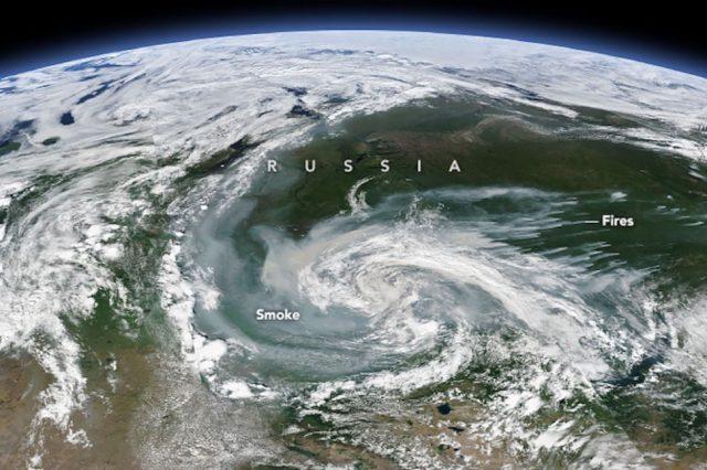 πυρκαγιές Αρκτική