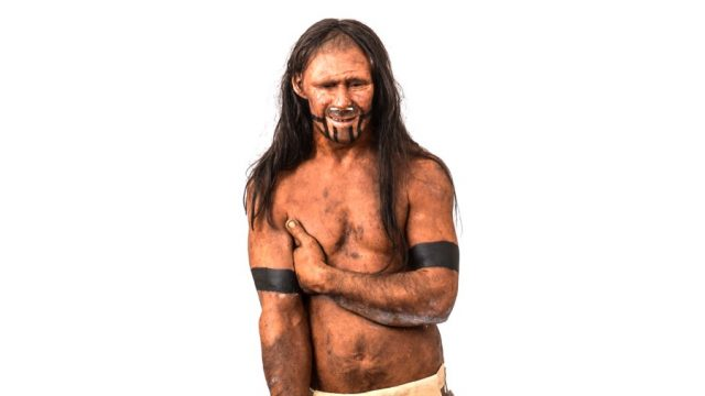 Homo sapiens Paleolithic reconstruction MUSE