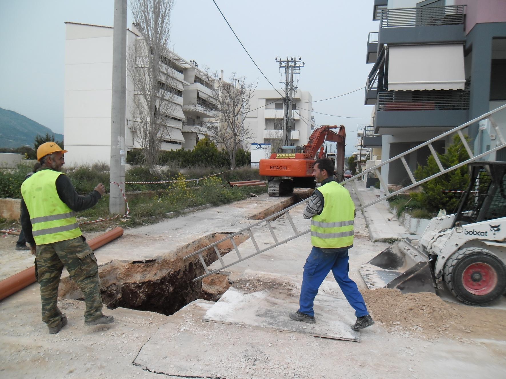 Ανατολική Αττική: Μετά από 20 χρόνια δρομολογούνται τα έργα αποχέτευσης