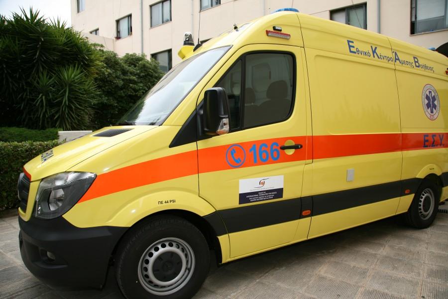 Ασθενοφόρο όχημα ΕΚΑB