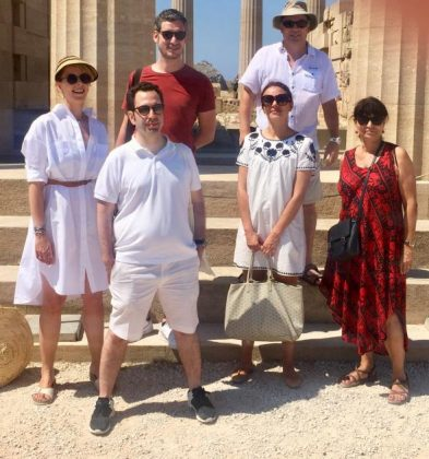 ΕΟΤ: Press trip στη Ρόδο για τέσσερις Γάλλους δημοσιογράφους