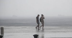 Βροχή, καιρός