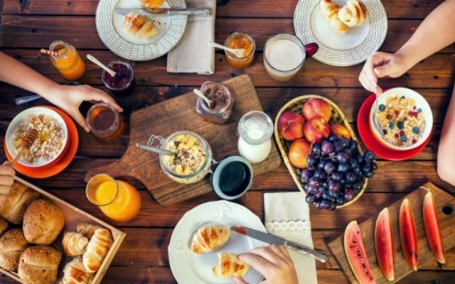 Πρωινό, γεύμα, τροφή