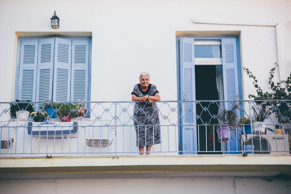 Σκιάθος, σπίτι, γιαγιά