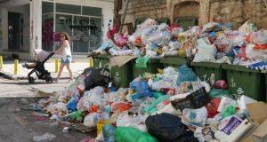 Σκουπίδια, απορρίμματα Αθήνα, κάδοι