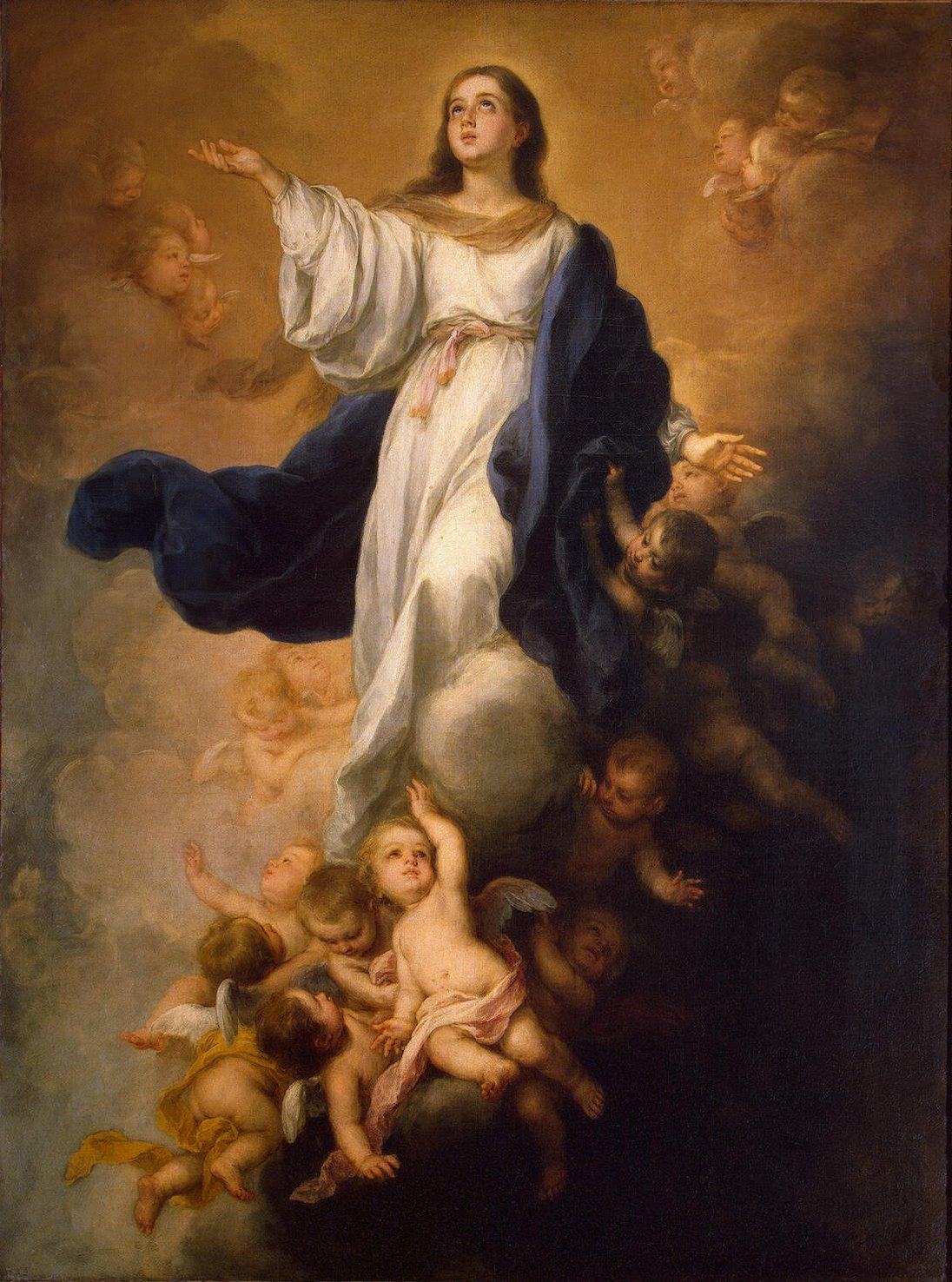 Bartolomé Esteban Murillo, Assumption of the Virgin, c. 1680