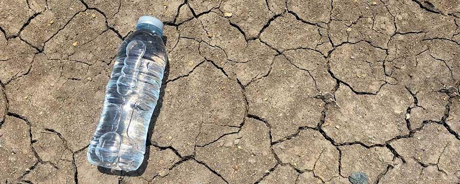 Water Scarcity Bottle