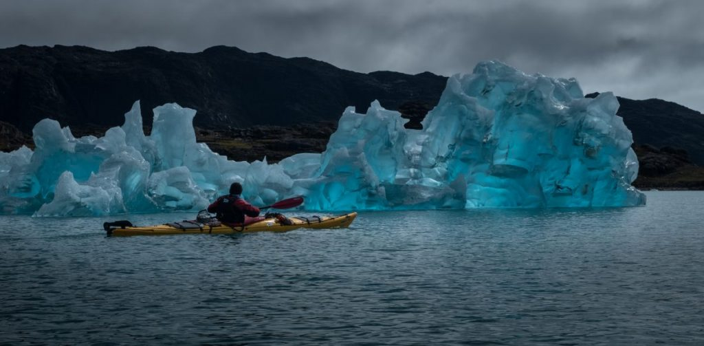 Το λιώσιμο πάγων στην Γροιλανδία