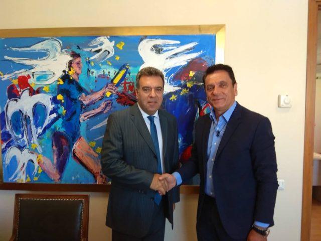 1η Διεθνής Έκθεση Θεματικού Τουρισμού: Συνάντηση με τον Υφυπουργό Τουρισμού