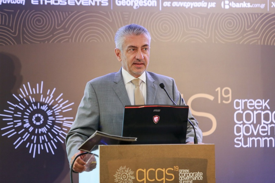 Greek Corporate Governance Summit 20192. Ouzounis Ethos Media