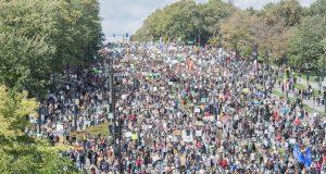 Καναδάς: Κοσμοσυρροή μαζί με την Γκρέτα Τούνμπεργκ στη διαδήλωση κατά της κλιματικής αλλαγής