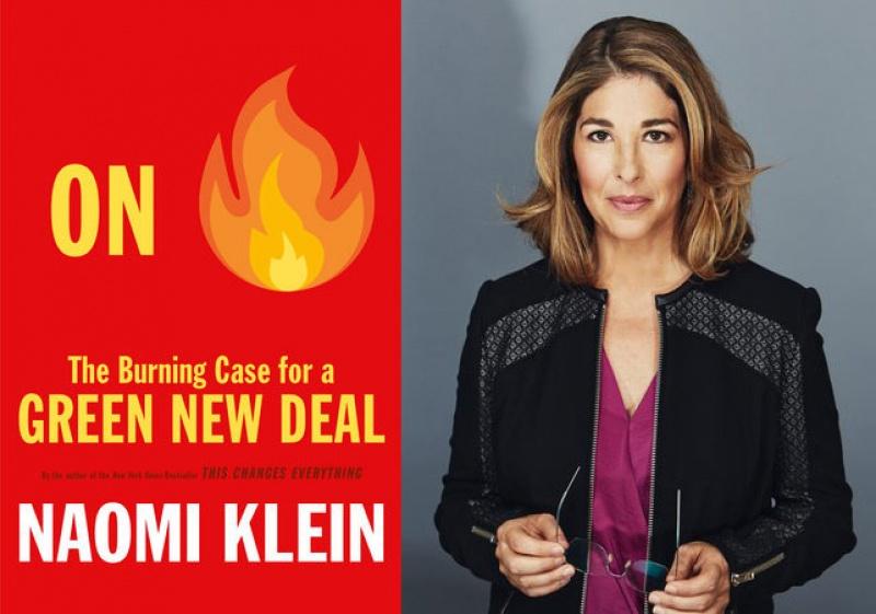 Naomi Klein On Fire composite