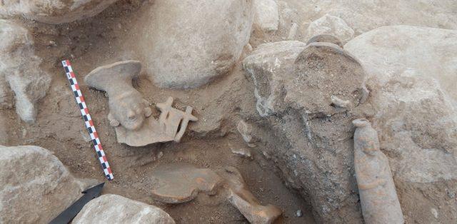 Φλώρινα: Βρέθηκαν χρυσές μάσκες Μακεδόνων πολεμιστών