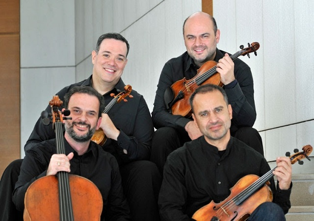 Το κουαρτέτο εγχόρδων της Κρατικής Ορχήστρας Αθηνών