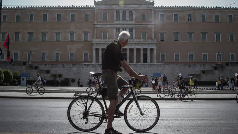 Ποδήλατο: Λιγότεροι ρύποι, καλύτερο αστικό περιβάλλον