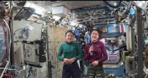 NASA αστροναύτες Jessica Meir Christina Koch