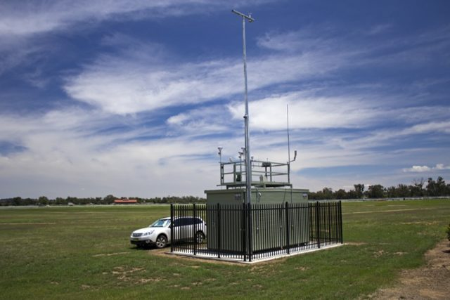NSW EPA air quality monitoring station