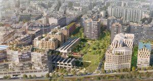 """Ανάπλαση σταθμού Ordener-Poissonniers: Μια """"οικο-γειτονιά"""" στο Παρίσι"""