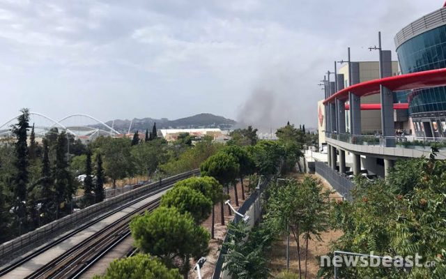 Έκτακτο: Φωτιά σε χώρο του ΟΑΚΑ