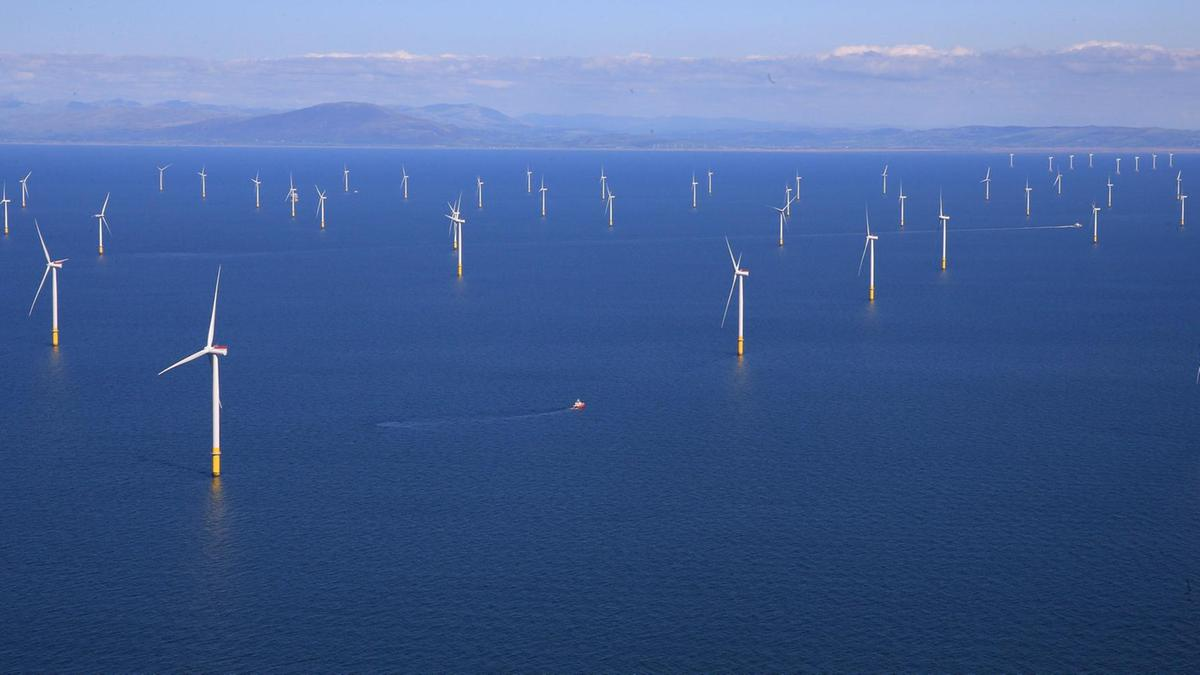 offshore wind farm great britain