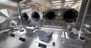 NASA - σεληνιακά δείγματα