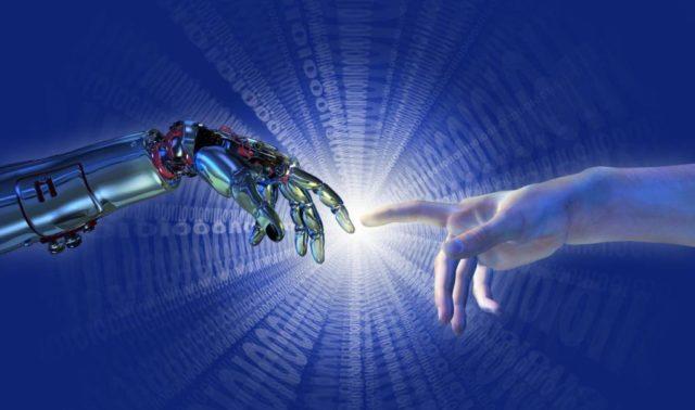 Artificial Intelligen robot ai